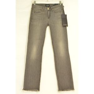 Strom Jeans - Strom jeans gray NWT 25 x 28 ankle frayed raw legs